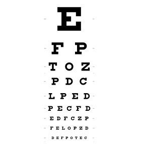 eye chart_000016156136XSmall