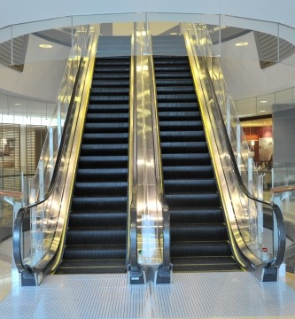 Retailers slow down escalators for the elderly.