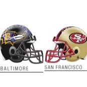 Super Bowl Balt. SF