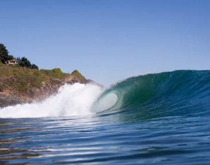 Surfing Chile endangered wave