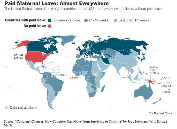 Glass Ceiling and Paid Maternity Leave