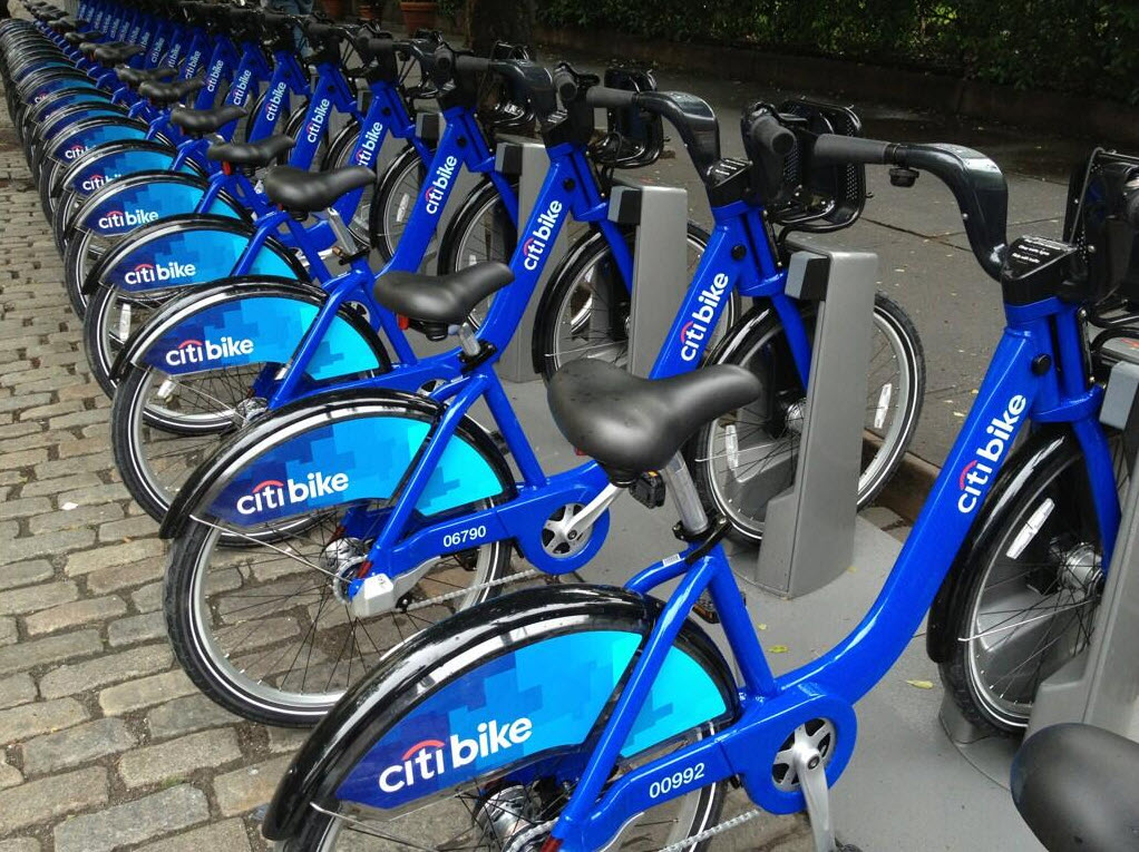 CitiBike to Work!
