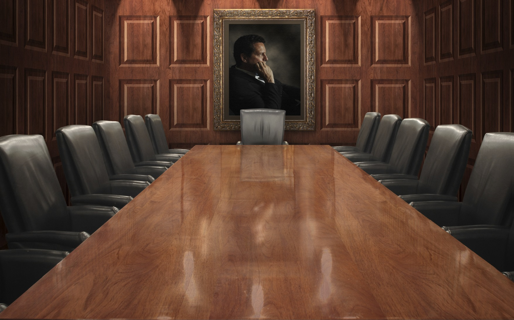 The Boardroom Still Has a Glass Ceiling