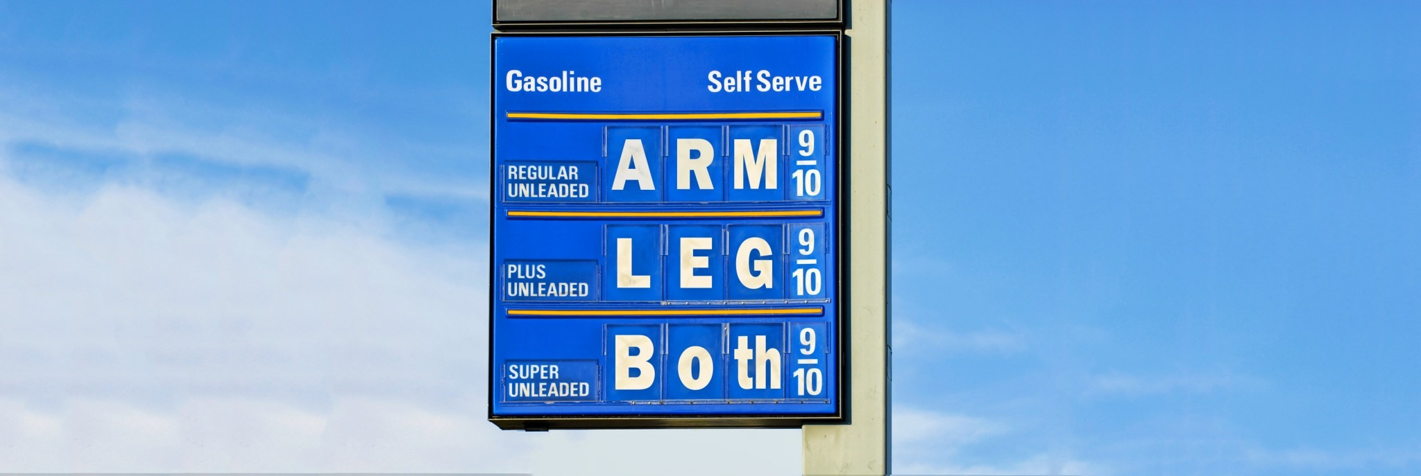 The Reason the Price of Gasoline Has That 9/10