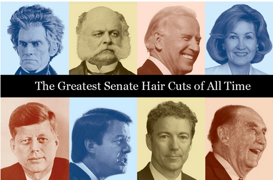 A small part of fiscal policy, Senate spending includes its barbershop and hair salon.