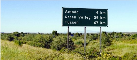 Metric System conversion Arizona highways