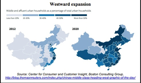Conspicuous Consumption and China's growing middle class.