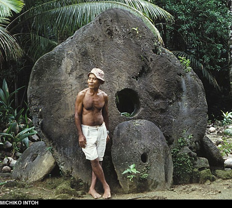 The Yap money supply is composed of limestone discs.
