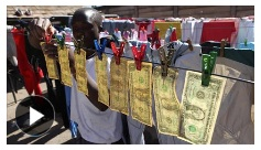 Zimbabwe inflation and U.S. dollars