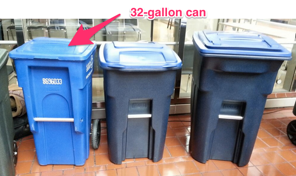 Social norm to recycle with more in the supercans