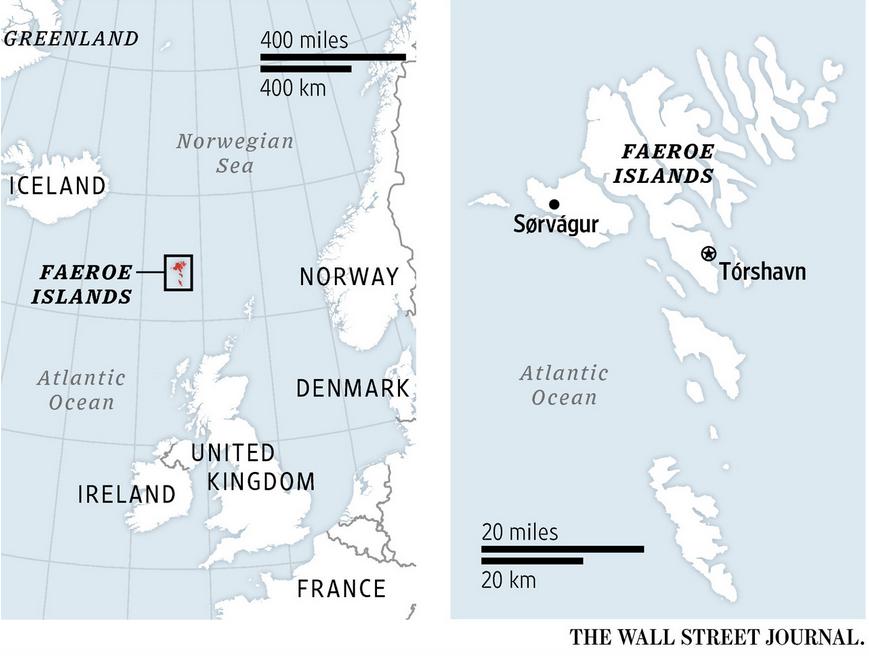 Trade barriers benefit Faeroe Islands